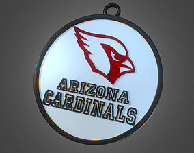 Arizona Cardinals Football Club Medal - 3D Printable