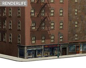 Tenement Block 2 3D model