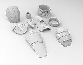 Old Republic Lana Beniko wars 3D printable model
