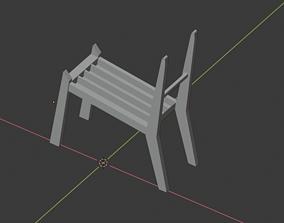 3D print model BookChair