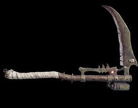 Manreaper scythe 3D model