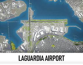 New York LaGuardia Airport - LGA 3D model