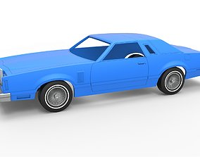3D printable model Diecast shell and wheels Ford 5