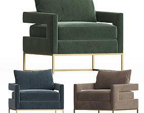 Bevin Accent Chair Onekingslane 3D