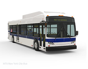 MTA New York City Bus 3D