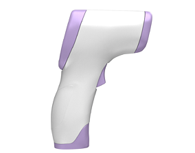 Thermometer DT8809c Temperature Gun lowpoly low-poly