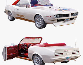 3D Pontiac firebird 1968 convertible custom