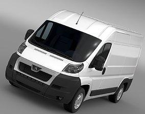 Peugeot Boxer Van L2H2 2006-2014 3D model