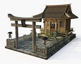 Japanese Shrine 3D