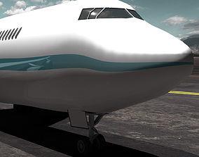 3D model of Boeing 747