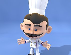 Mini Chef 3D model
