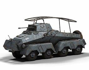 Schwerer Panzerspahwagen SdKfz 232 3D