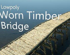 Timber Roman Bridge 3D model