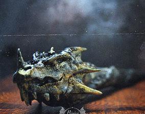 3D printable model DRAGON HEAD WAND - HARRY