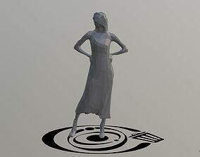 3D asset Human 093 LP R
