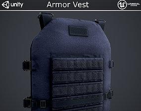 Armor Vest 3D asset