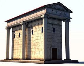 Ancient Rome Building 2 3D model