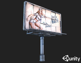 3D model Big Steel Billboards
