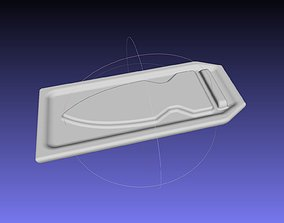 3D print model Deadpool Chest Knife Pocket And Blade