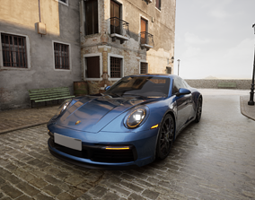 3D Porsche 911 Carrera S 2019 drive