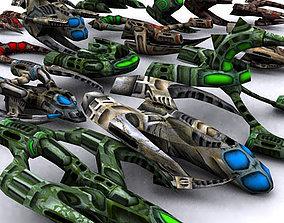 realtime 3DRT - Alien Invasion Pack
