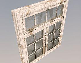 3D model Old dirty window