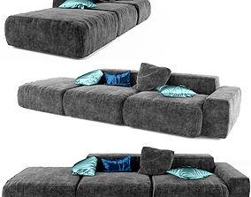 3D Sofa Peanut B Bonaldo
