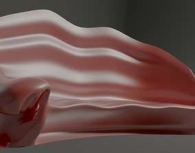 3D model game-ready Bionic sofa