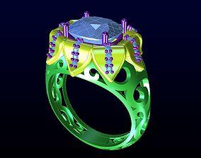 DIAMOND JEWELLERY 3D print model alphabet