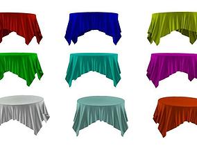 Table Cloths 3D