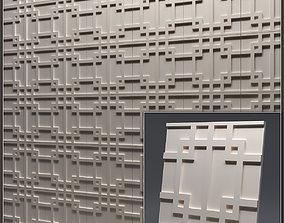 Gypsum 3D panel 6