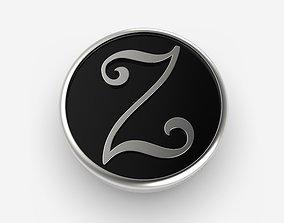 Alphabet Latin Z 3D printable model