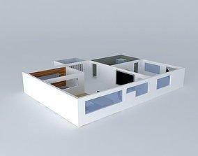 Apartment interior design 3D model