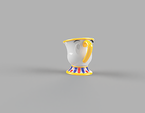 3D printable model CHIP FROM BEAUTY AND THE BEAST