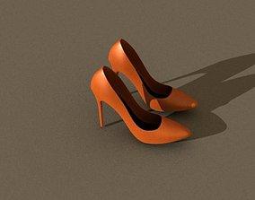 high heels legs 3D
