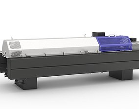 Decanter centrifuge 3D