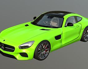 Mercedes-AMG GT Electric Drive 3D asset