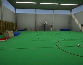 School Gym Environment Pack 3D asset
