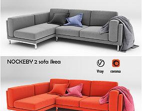 NOCKEBY 2 sofa 3D asset