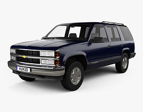 3D Chevrolet Tahoe LT 4-door 1995