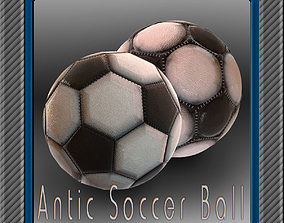 3D Antic soccer ball collection