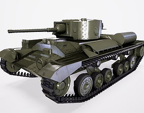 Infantry Tank Mk - III Valentine 3D asset