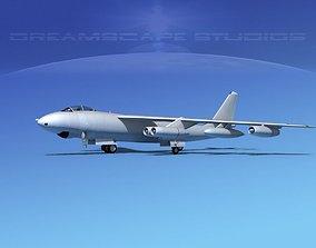 3D Boeing B-47 Bare Metal