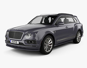 3D Bentley Bentayga Speed US-spec 2020