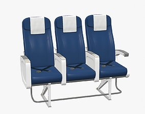 Airplane Chair V6 3D asset