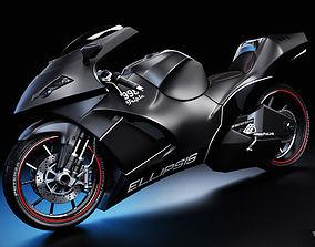 The Ellipsis - Concept Motorcycle 3D
