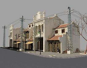 Hoi An Viet Nam street 3D model