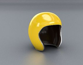 Yellow Jet Helmet 3D