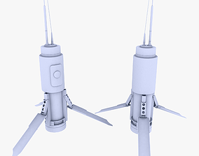 3D asset T-UGS Motion Sensor