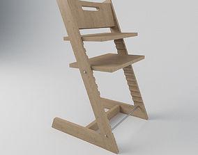 3D model Tripp Trapp High Chair for Kids
